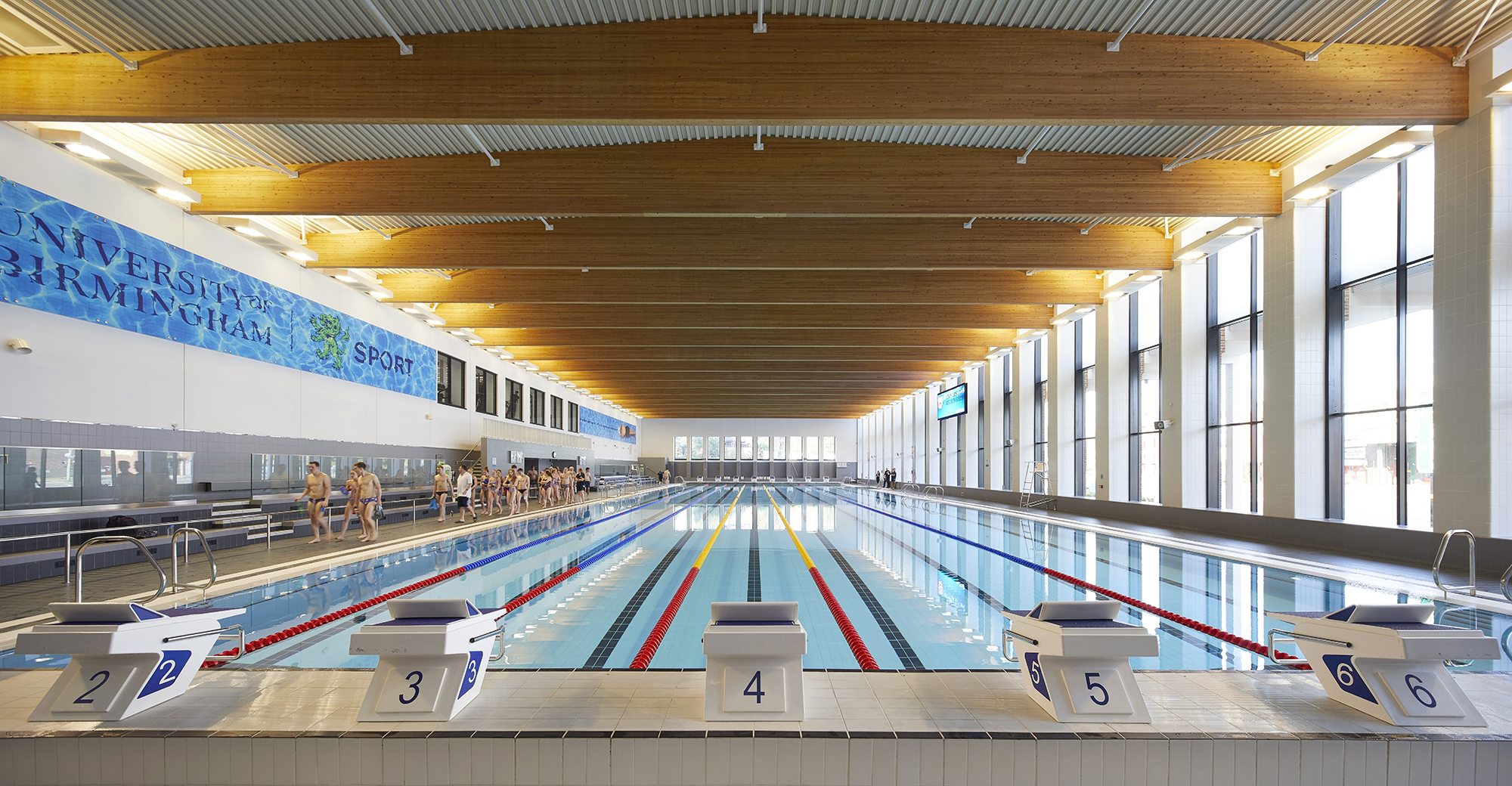 University of birmingham indoor sports centre eq2 light - University of birmingham swimming pool ...